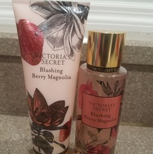 Victoria's Secret Blushing Berry Magnolia set
